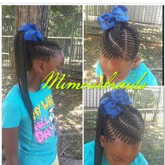 Kids hair i love your hair it is very pretty i won't my just like you i love cornrows braids it make your hair grow that is a good style for me but not know body they don't won't it Lil Girl Hairstyles, Natural Hairstyles For Kids, Princess Hairstyles, My Hairstyle, Braided Hairstyles, Natural Hair Styles, Swag Hairstyles, School Hairstyles, Hairstyle Ideas