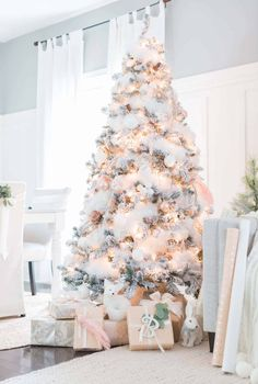 White Tree Decorations Christmas Ideas For 2019