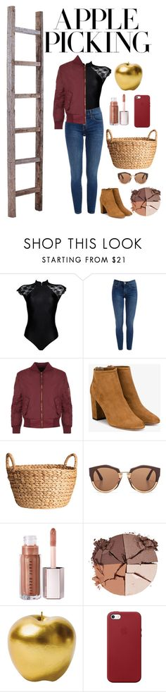 Apple Picking Contest Entry by add-silver on Polyvore featuring WearAll, OuiHours, Aquazzura, Apple, Marni, lilah b., Bitossi, contest, contestentry and applepicking Aquazzura, Marni, Apple, Shoe Bag, Polyvore, Silver, Stuff To Buy, Shopping, Collection