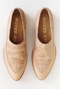 SHOE REDFORD CORK | Rodebjer