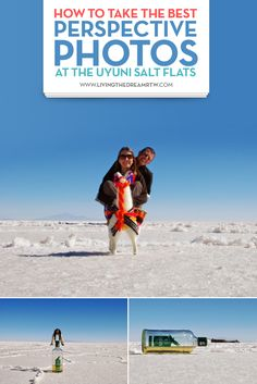 How to Take the Best Perspective Photos at the Uyuni Salt Flats: Our excitement could not be contained as we watched the sun rise over the vast plain of salt that is almost as large as some small European countries. Here we show you how to get the best shots.