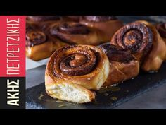 Cinnamon Rolls | Kitchen Lab by Akis Petretzikis - YouTube