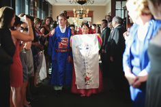 Korean wedding ceremony, Paebaeck. Boston.