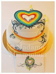 I know we have already decided on your cake but I thought I could try something similar for the cake topper?