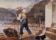Jean-Baptiste Debret – Castigo de escravo