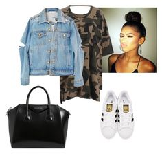 """""""Untitled #47"""" by georgiarose2008 on Polyvore featuring adidas Originals and Givenchy"""
