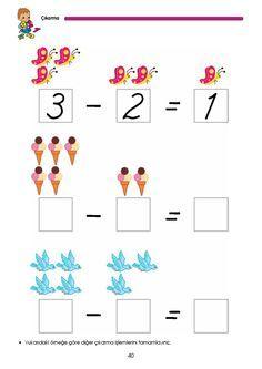 Subtraction Worksheets, 1st Grade Worksheets, Homeschool Preschool Curriculum, Preschool Activities, Math 4 Kids, Kumon, Printable Mazes, Poster Background Design, School Lessons
