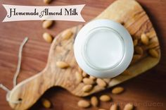 Sweet Roots {Infusions of Herbal Living}: Homemade Almond Milk + different flavors