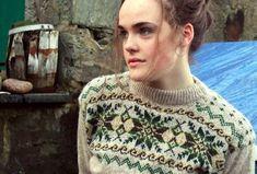 Sea Moss Authentic Hand Knit Fair Isle :: Rosabell Halcrow :: Bespoke hand knit Fair Isle from Shetland :: Fair Isle Knitwear
