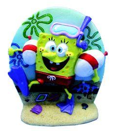 Try This: Penn-Plax Spongebob Aerating Ornament for Aquarium