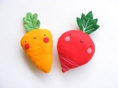 PDF pattern Carrot  radish earphones holders cute by iManuFatti