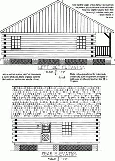 Build a Simple Log Cabin DIY Log cabins Cabin and Logs