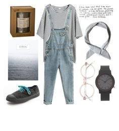 """Sin título #374"" by trendy-outfits ❤ liked on Polyvore featuring Bensimon, Komono, Le Labo, Pull&Bear and French Connection"