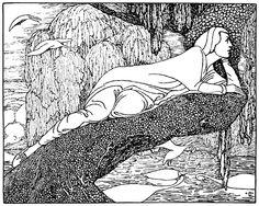 Heinrich Vogeler, Fairy Tales, Drawings, Illustration, Art, Kunst, Art Background, Fairytail, Sketches