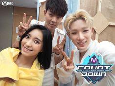 Bora, Shownu and Wonho