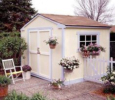 Great garden shed.