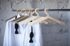 Siipi coat hanger by Tapio Anttila for Nordic Hysteria