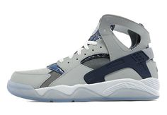 """Check out this Nike Air Flight Huarache in a """"Georgetown Hoyas"""" colorway."""
