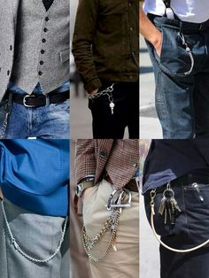 Wallet chain accessory men's