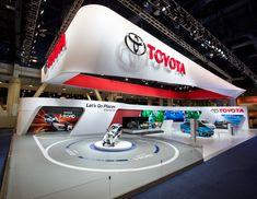 Toyota at the 2014 International CES by Stuart Fingerhut, via Behance