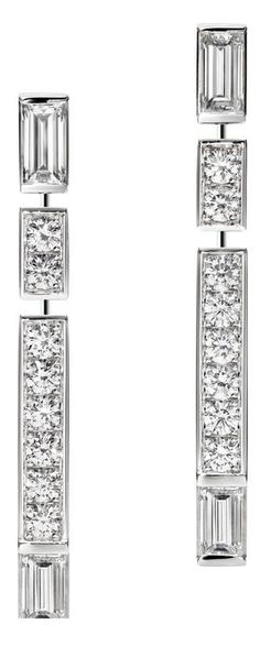"Billionaire Club / karen cox. The Glamorous Life.  ""Traffic"" Diamond Earrings by Harry Winston"
