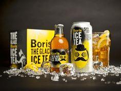 Boris ice tea |Packaging by lg2boutique, via Behance