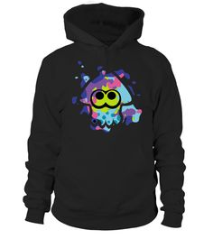 # SPLATOON SQUID .  Solid colors: 100% Cotton; Heather Grey: 90% Cotton, 10% Polyester; All Other Heathers: 65% Cotton, 35% PolyesterImportedMachine wash cold with like colors, dry low heat