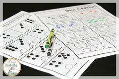 These math printables are amazing for any primary classroom! Adding 0, Adding 1, Adding to 10, and Writing Number Sentences!