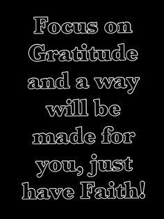 Have an attitude of Gratitude :) #quote