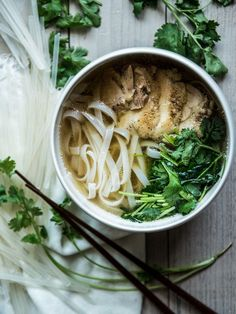 Chicken pho by Miki Fujii on 500px