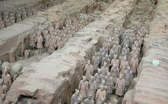 Tausende von Terrakotta-Kriegern warten © Viktoria Urbanek