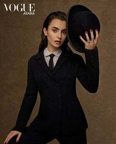 Fitness Inspiration, Hair Inspiration, Lily Collins Style, Old Hollywood Glam, Phil Collins, Suit And Tie, Hollywood Celebrities, Beautiful Actresses, Suits For Women