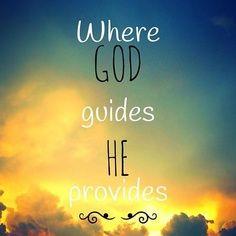 Hij zal voorzien