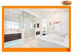 #WindowsMilwaukeeReplacement White BathRoom