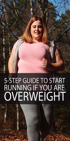 Running is the best way to lose weight and burn fat, no doubt, but are you putting off doing it because you think you are too fat for it? You shouldn't hold back any more! If you're an overweight pers