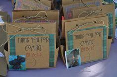 DISNEY BRAVE PARTY favor bags.