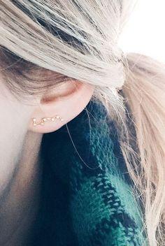 Constellation earings