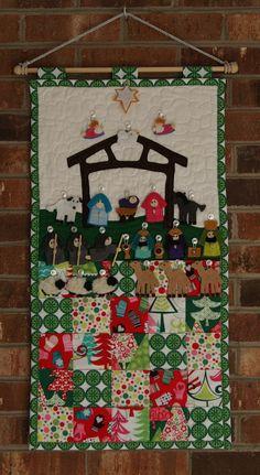 Advent Calendar Nativity Scene