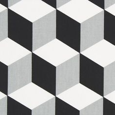 Half-panama Cube 7 - Cotton - black