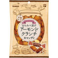 はちみつ漬けアーモンドクランチキャンディ Cake Packaging, Brand Packaging, Packaging Design, Japanese Typography, Typography Poster, Typography Design, Japanese Packaging, Photo Packages, Japanese Graphic Design
