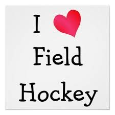 my daughter and field hockey