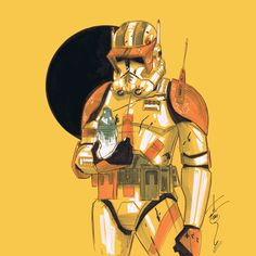 Commander Cody by Tom Hodges