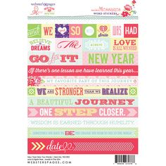 Webster's Pages Presents!! New Year New You by Adrienne Looman!