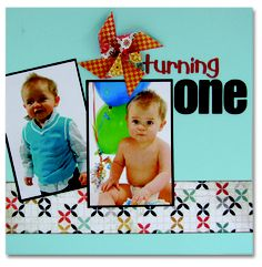 Archiver's scrapbook page