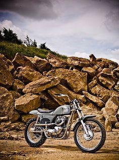 Metisse Motorcycles - Steve McQueen Desert Racer