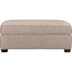 Davis Storage Ottoman in Ottomans & Cubes   Crate and Barrel $510
