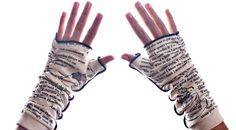 Alice in Wonderland Writing Gloves - Fingerless Gloves | Storiarts http://storiarts.com/collections/gloves/products/alice-in-wonderland-writing-gloves