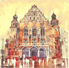 Zdjęcie numer 5 w galerii - Miasta w akwareli - obrazy Polki zachwyciły internautów