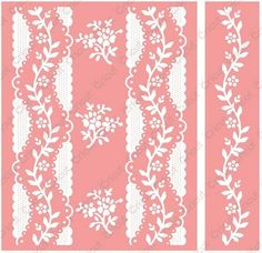 Cuddlebug Embossing Folder / Border Set - by Anna Griffin - A2 - Irgandy Stripe