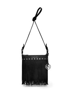 MICHAEL Michael Kors  Small Billy Messenger . Luv these fringe crossbody bags i want all of them